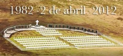 Homenaje por el 30° aniversario de la Gesta de Malvinas  (CABA) 02-04-2012