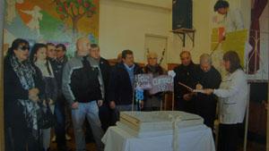 Actividades solidarias de los socios de nuestro centro de Mar del Plata