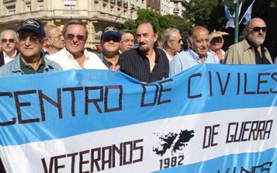 Homenaje a Veteranos de Guerra de Malvinas en Ciudad Autónoma de Buenos Aires 01-04-2011
