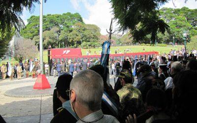 Homenaje frente al Cenotafio en Plaza San Martín (CABA) 02-04-2011