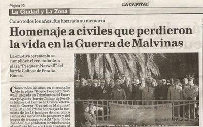 Acto los días 8 y 9 de mayo en la ciudad de Mar del Plata