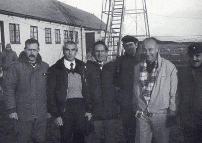 Lucio Mansini, José M. Chávez y Everto Caballero