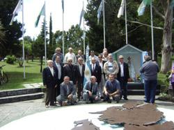 Acto en Mar del Plata en la Plaza Pesquero Narwal