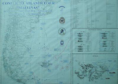 Mapa Conflicto Atlántico Sur