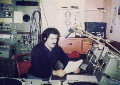 Norman Powell, Locutor Nacional, LRA60 Radio Malvinas