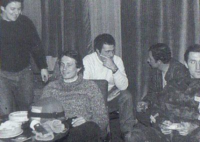 Rotondo, Kasanzew y el Padre Pichinalli en Upland Goose