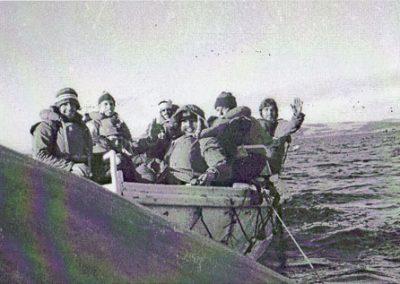 Tripulantes del Río Carcarañá abandonan el barco