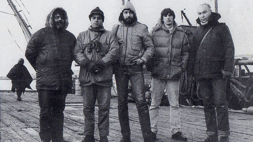 Virgilio Vitaliano, Pérez Andrade, Juan Carlos González, Daniel Bartosi, Everto Hugo Cavallero