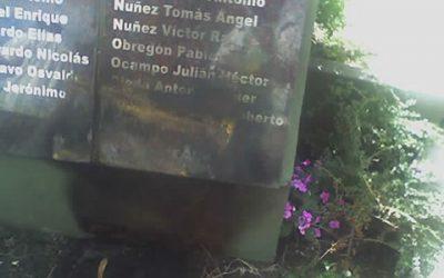 Comunicado de prensa – Acto vandálico en el Cenotafio de Mar del Plata
