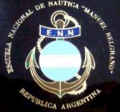 Logo de la Escuela Naútica - Estas navieras estatales y privadas y la Escuela Nacional de Náutica dispusieron sus medios y el esfuerzo de sus tripulaciones